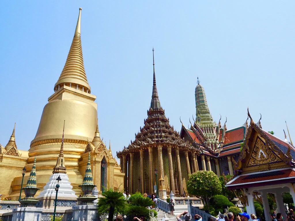タイ・バンコクのエメラルド寺院ことワットプラケオ(王宮)