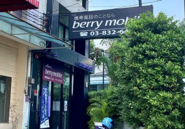 【通信】berry mobile(ベリーモバイル)