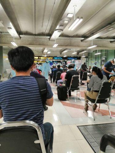 タイ入国までの流れ(7月入国の場合)